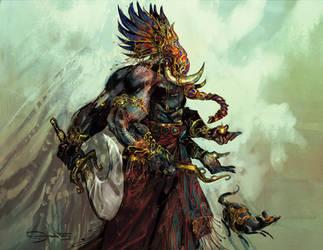 Ganesha- Yajat by tejomaya