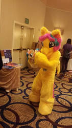 Golden Gates finds herself at BABSCon by Inashne117