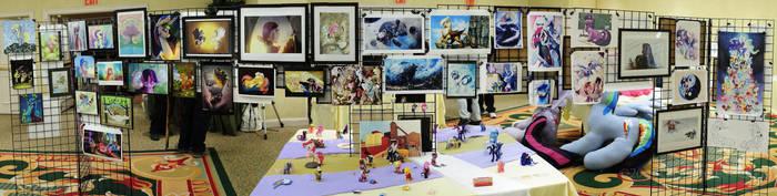 Big Apple Ponycon - Travelling Pony Museum (1) by GTX-Media