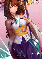 Final Fantasy - Yuna [Fanart] by Nesallienna