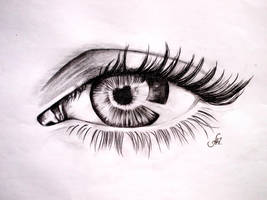 Eye by annakoutsidou