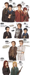Hogwarts AU by yikooooo