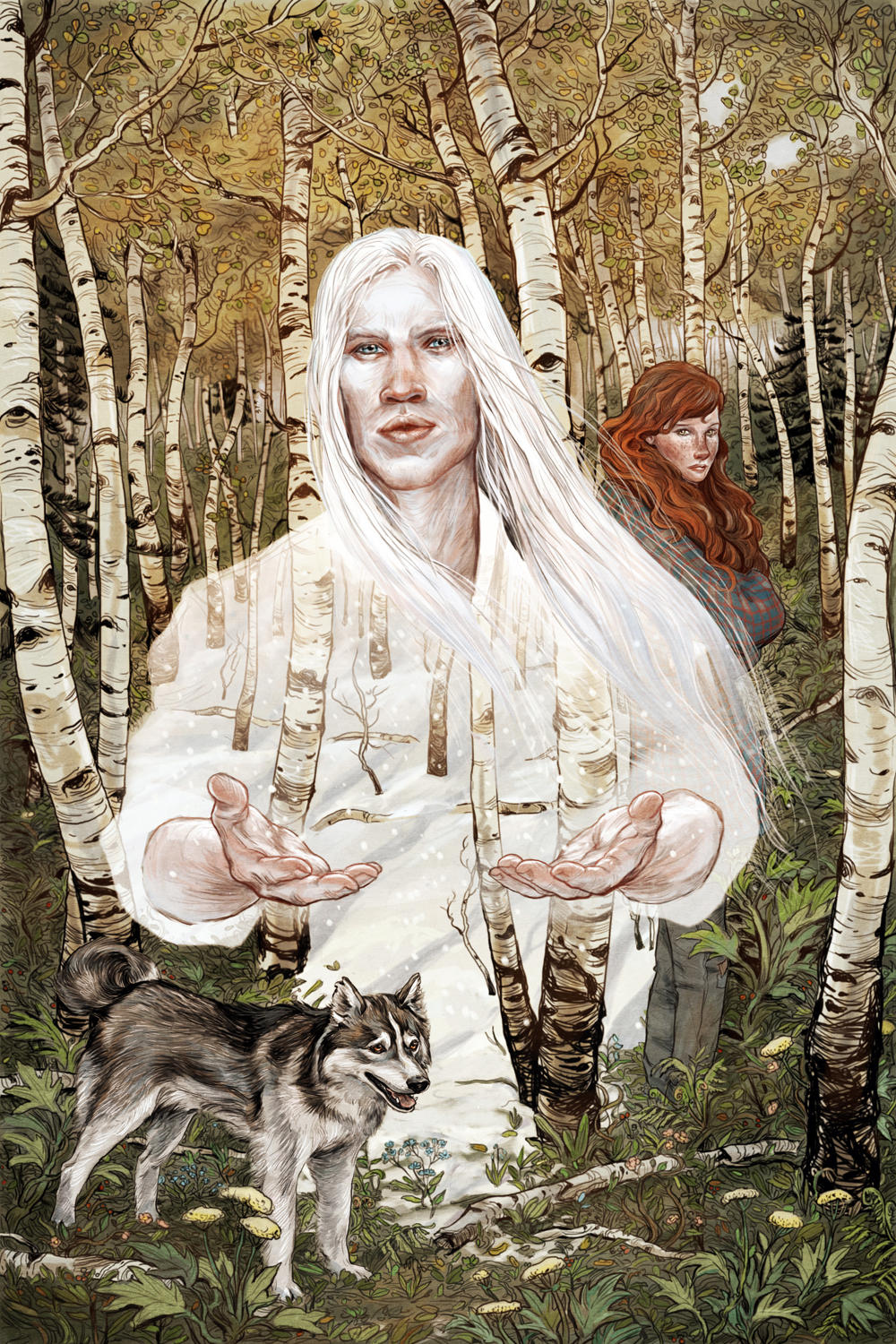Cover illustration for Catskin by Artemis Grey by bluefooted
