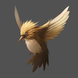 Tiny Thunderbird by MrRedButcher