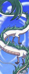 Dragon Haku by azyzl
