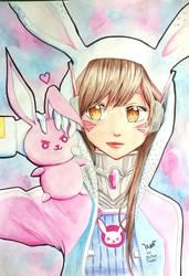 Bunny D.Va by MiaMaryPunkt