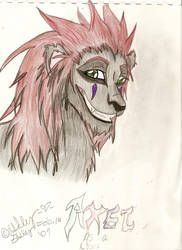 Axel as a Lion by Axels-Tear-Drops
