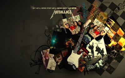 Metallica 1440x900 by Tupipak