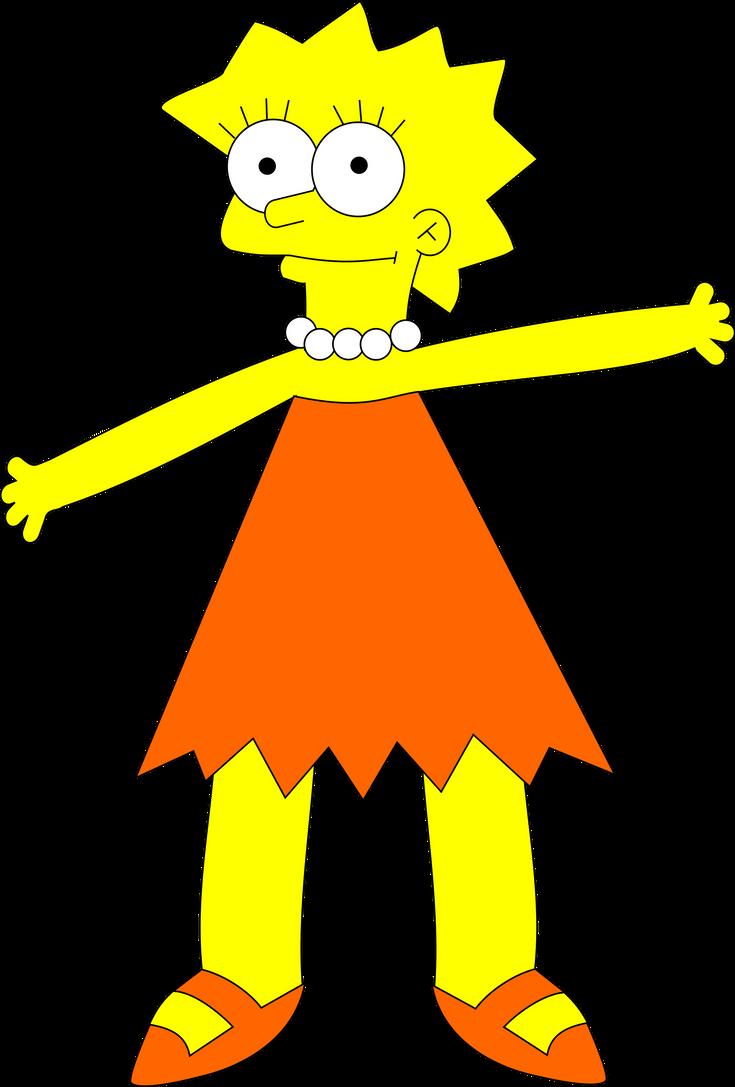 Lisa Simpson by adampanak
