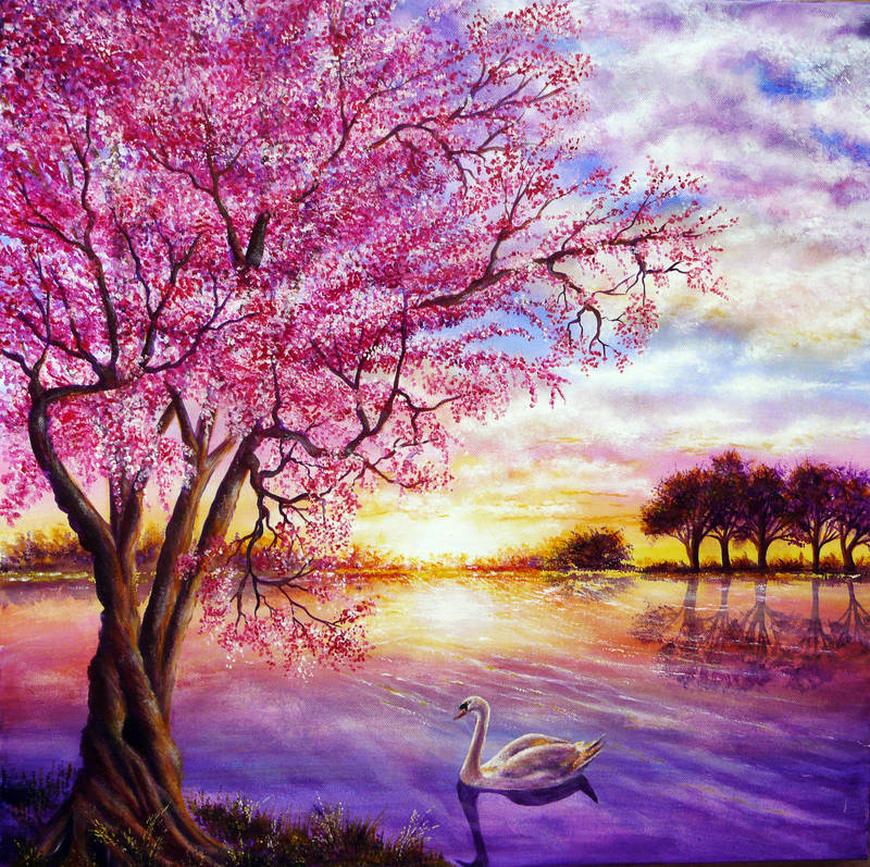 Twisted Blossom by AnnMarieBone