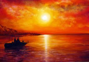 Fishing Trip by AnnMarieBone