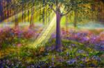 Bluebell Woods by AnnMarieBone