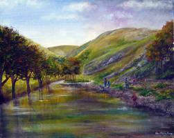 Derbyshire Dove by AnnMarieBone
