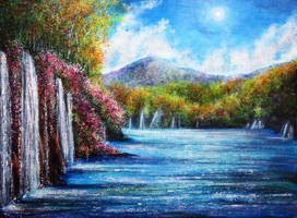 Flora Falls by AnnMarieBone