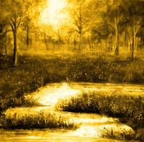 Golden Evening by AnnMarieBone
