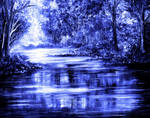 Moody Blue by AnnMarieBone