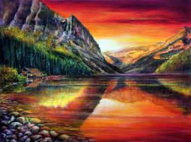 Lake Louise by AnnMarieBone