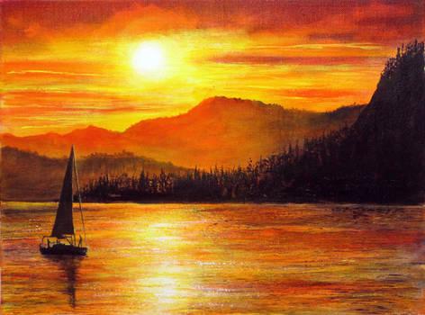 Italian Sunset by AnnMarieBone
