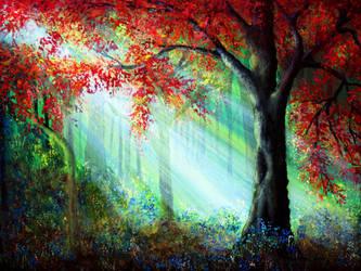 Autumn Rays by AnnMarieBone