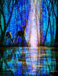 Winter Melody by AnnMarieBone