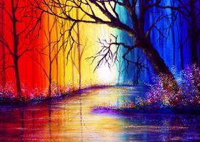 Vibrant Waters by AnnMarieBone