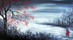 Winter Walk by AnnMarieBone