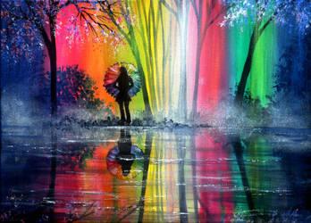 Rainbow Wish by AnnMarieBone
