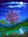 Lucky Rabbit by AnnMarieBone