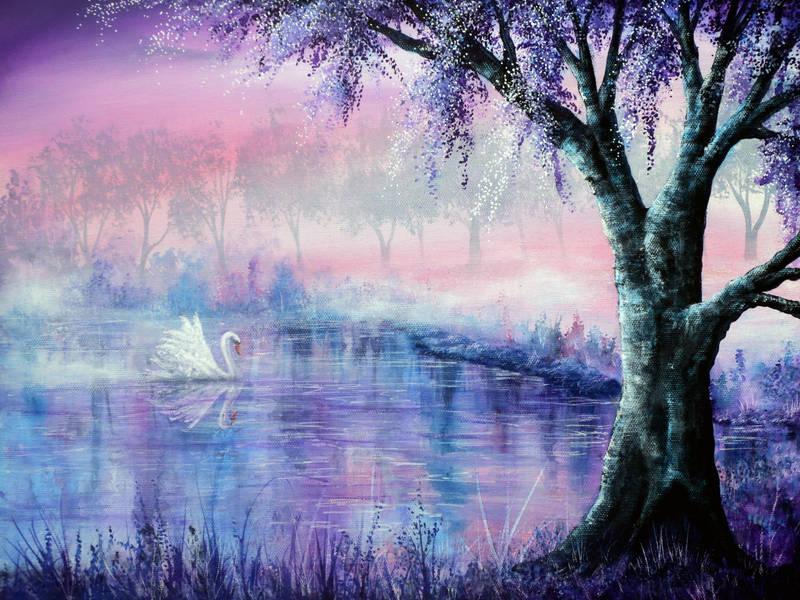 Misty Moment by AnnMarieBone