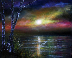 Evening Flight by AnnMarieBone
