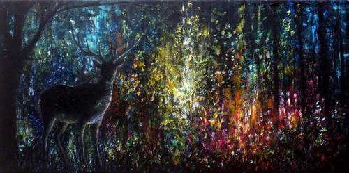 Magic Forest by AnnMarieBone
