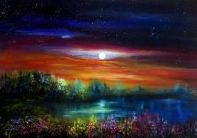 Below the Stars by AnnMarieBone