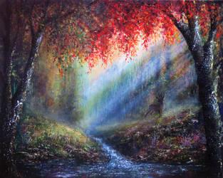 Autumn Glory by AnnMarieBone