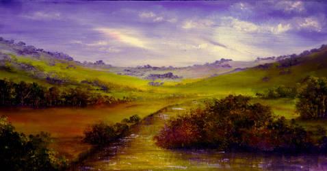 Derbyshire Evening by AnnMarieBone