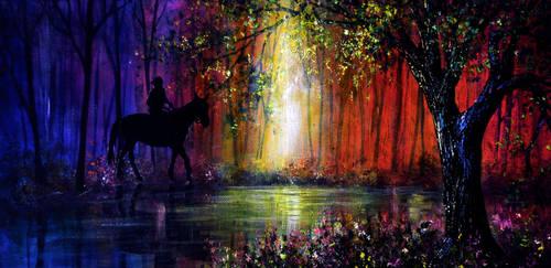 Rainbow Ride by AnnMarieBone