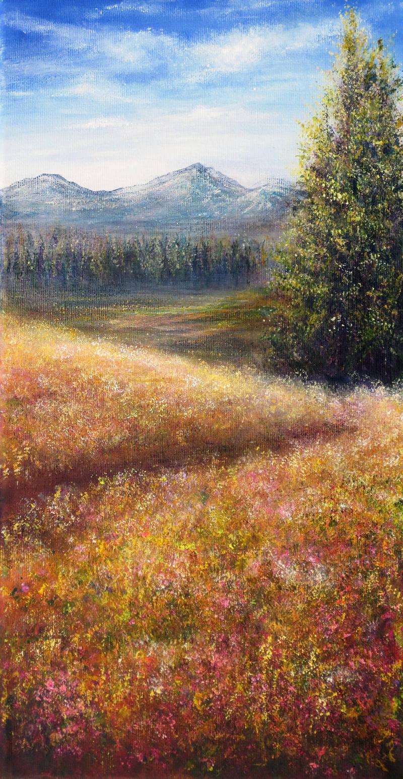 French Fields by AnnMarieBone
