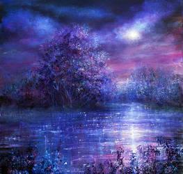 Blue Moon by AnnMarieBone