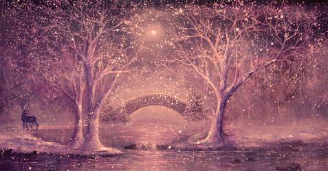 Winter Magic by AnnMarieBone