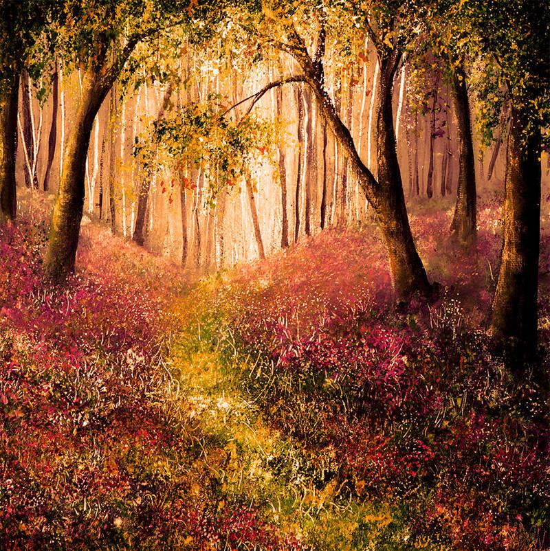 Evening Grove by AnnMarieBone