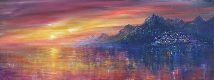 Sunset Haven by AnnMarieBone