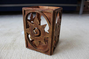 Hearthstone candle holder by CassiusProps