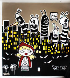 1st official Mural by SCRaM01