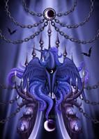 - Luna Enthroned - by Yiuokami