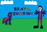 MLP: Bravo, Bucbrony! by EmeraldBlast63