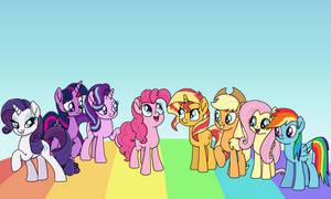 Friendship is Cinemagic by EmeraldBlast63