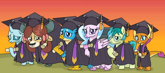 Graduation Ceremony by EmeraldBlast63