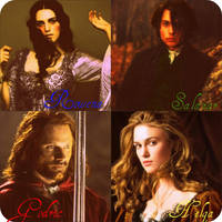 The Four Hogwarts Founders by DefyGravity-Elphie
