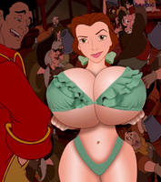 Belle's Bikini by btaco6