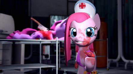 Pony Nurses: Pinkamena Diane Pie by Legoguy9875