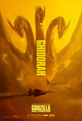 Legendary King Ghidorah by JW-Gojifan